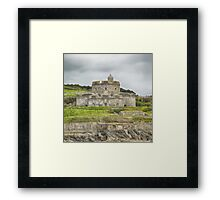 St. mawes Fortress, Square Format Framed Print