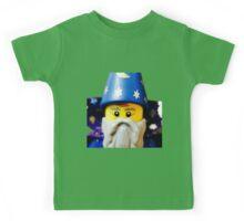 Lego Wizard minifigure Kids Tee