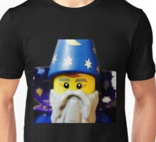 Lego Wizard minifigure Unisex T-Shirt