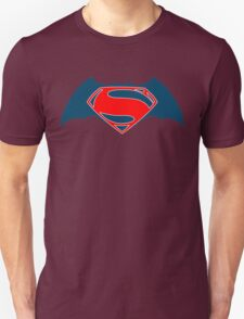 Batman vs Superman sticker T-Shirt