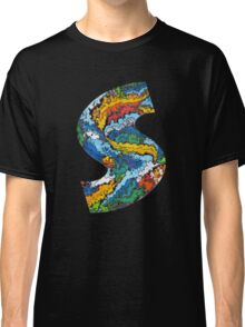 S for Serif (abstract S reworked) Classic T-Shirt