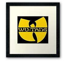 WU-TANG GOLD Framed Print