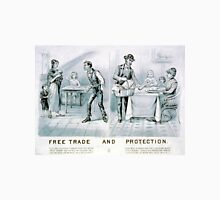 Free trade and protection - 1888 - Currier & Ives Unisex T-Shirt