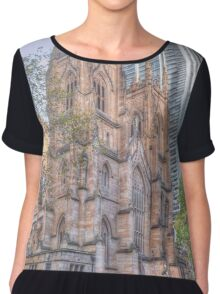 St Andrews Cathedral .. Australia's Oldest Chiffon Top