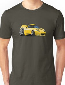 Cartoon Sportcar Unisex T-Shirt