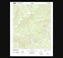 USGS TOPO Map Alabama AL Fort Dale 20110915 TM Unisex T-Shirt