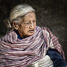 Lady in Bhaktapur #0401 by Michiel de Lange