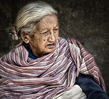 Lady in Bhaktapur #0401 by Michiel de Lange