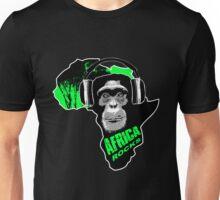 Schimpanse – Africa rocks Unisex T-Shirt