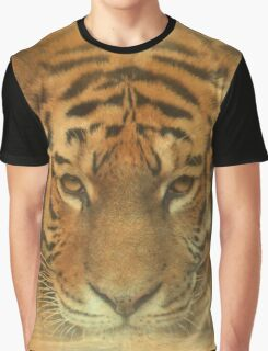 The Tiger in the Moon Graphic T-Shirt