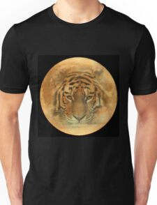 The Tiger in the Moon Unisex T-Shirt