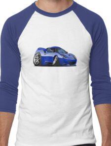 Cartoon Sportcar Men's Baseball ¾ T-Shirt