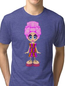 Flip-flop dress doll Tri-blend T-Shirt