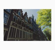 Amsterdam Spring - Elegant Facades Since Year 1642 - Right Kids Tee