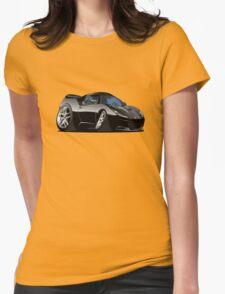 Cartoon Sportcar Womens Fitted T-Shirt