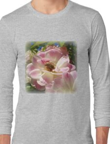 The Visitor on the Rose Long Sleeve T-Shirt