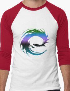 Colorful Dragon - Eragon Men's Baseball ¾ T-Shirt
