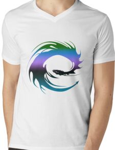 Colorful Dragon - Eragon Mens V-Neck T-Shirt