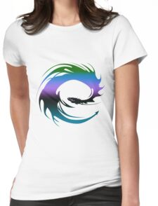 Colorful Dragon - Eragon Womens Fitted T-Shirt