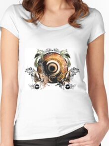 East Meets West Women's Fitted Scoop T-Shirt
