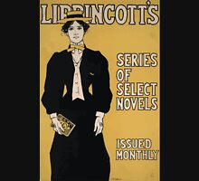 Artist Posters Lippincott's series of select novels issued monthly JJ Gould Jr 0018 Unisex T-Shirt