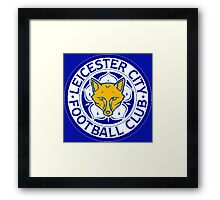 Leicester City F.C.  Framed Print