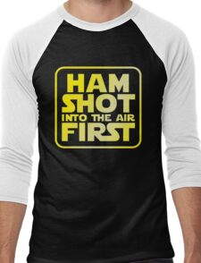 Ham Shot First Men's Baseball ¾ T-Shirt