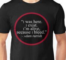 Adam Parrish Quote Unisex T-Shirt