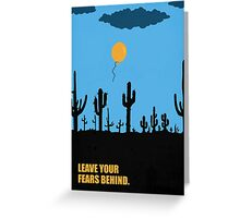 Leave Your Fears Behind - Corporate Start-Up Quotes Greeting Card