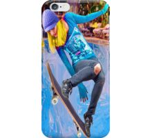 Skateboarding on Water iPhone Case/Skin