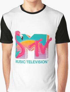 MTV Flamingo Graphic T-Shirt
