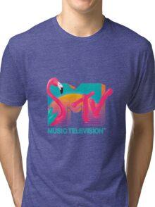MTV Flamingo Tri-blend T-Shirt