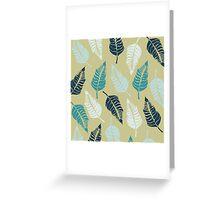 Leave Me Multi (Seaside) Greeting Card