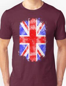 Union Jack - Vintage Look T-Shirt