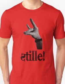 Stille! - Der stille Fuchs! Unisex T-Shirt