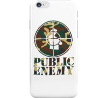 Public Enemy iPhone Case/Skin