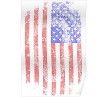 USA Flag - Vintage Look Poster