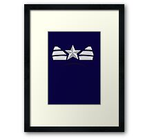 Captain oh my captain. Framed Print