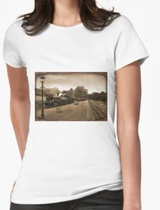 Welsh Highland Railway Womens Fitted T-Shirt