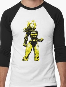 Black Canary Men's Baseball ¾ T-Shirt