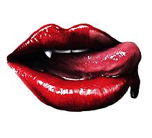 True Blood Fangs Photographic Print