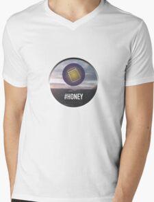 #Honey Mens V-Neck T-Shirt