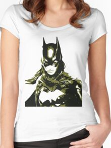 Batgirl Women's Fitted Scoop T-Shirt