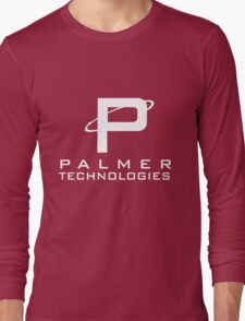 Palmer tech - White Long Sleeve T-Shirt