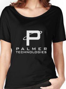 Palmer tech - White Women's Relaxed Fit T-Shirt