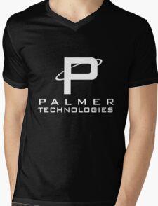 Palmer tech - White Mens V-Neck T-Shirt