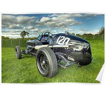GN Instone Special  Vintage Racing Car Poster