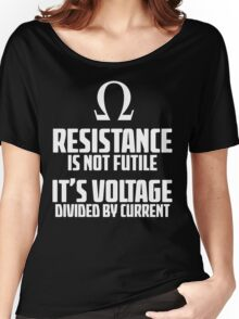 Funny Electrician - Physics T Shirt Women's Relaxed Fit T-Shirt