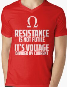 Funny Electrician - Physics T Shirt Mens V-Neck T-Shirt