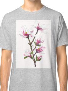 Magnolia blossoms Classic T-Shirt